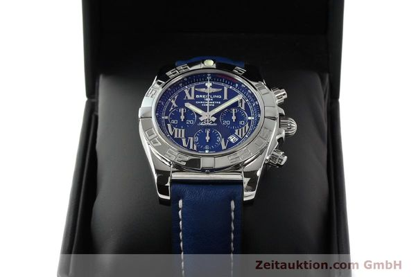 Used luxury watch Breitling Chronomat 44 chronograph steel automatic Kal. B01 Ref. AB0110  | 142826 07