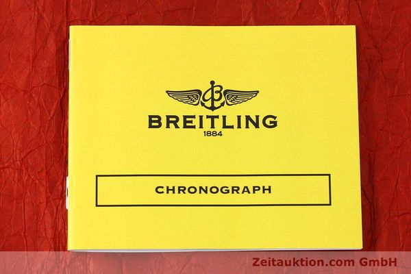 Used luxury watch Breitling Chronomat 44 chronograph steel automatic Kal. B01 Ref. AB0110  | 142826 12