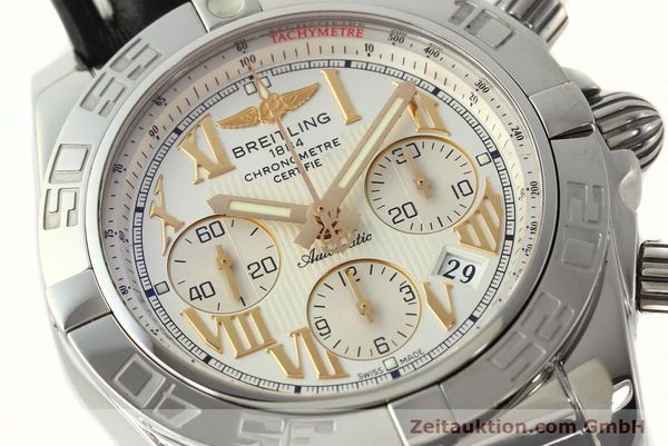 Used luxury watch Breitling Chronomat 44 chronograph steel automatic Kal. B01 Ref. IB0110  | 142827 02