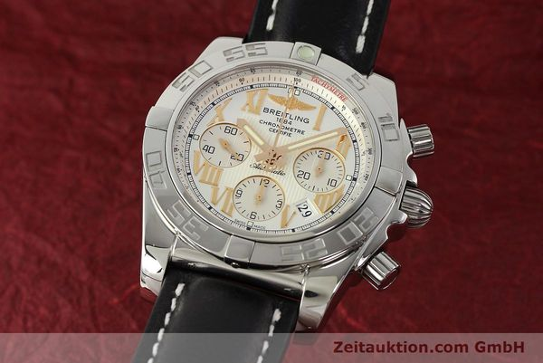 Used luxury watch Breitling Chronomat 44 chronograph steel automatic Kal. B01 Ref. IB0110  | 142827 04