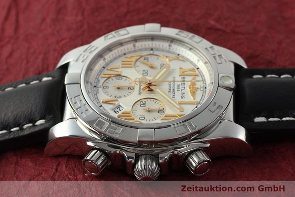 Used luxury watch Breitling Chronomat 44 chronograph steel automatic Kal. B01 Ref. IB0110  | 142827 05