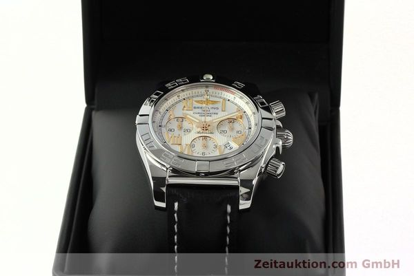 Used luxury watch Breitling Chronomat 44 chronograph steel automatic Kal. B01 Ref. IB0110  | 142827 07