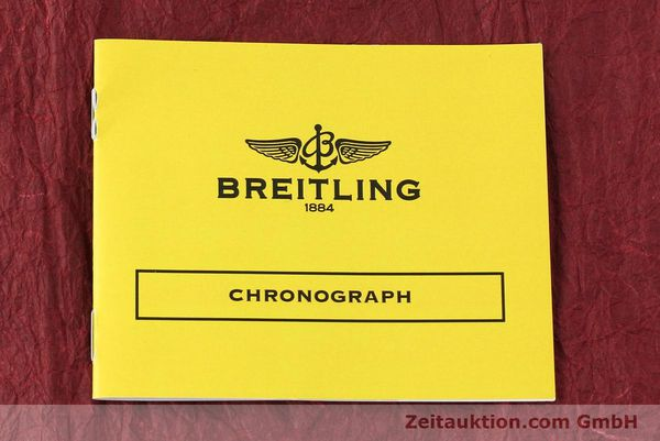 Used luxury watch Breitling Chronomat 44 chronograph steel automatic Kal. B01 Ref. IB0110  | 142827 12