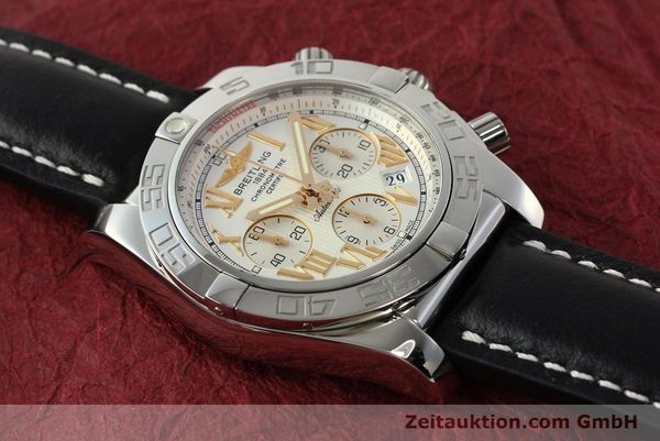 Used luxury watch Breitling Chronomat 44 chronograph steel automatic Kal. B01 Ref. IB0110  | 142827 15