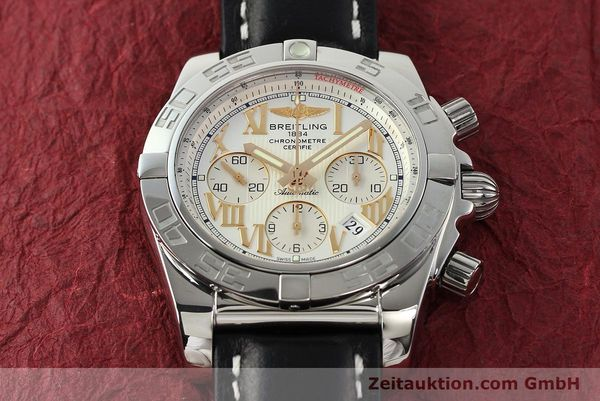 Used luxury watch Breitling Chronomat 44 chronograph steel automatic Kal. B01 Ref. IB0110  | 142827 16
