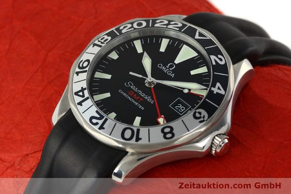 Used luxury watch Omega Seamaster steel automatic Kal. 1128  | 142828 01
