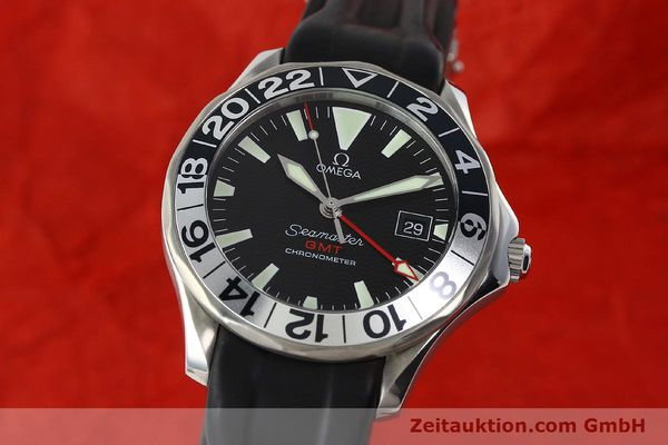 Used luxury watch Omega Seamaster steel automatic Kal. 1128  | 142828 04