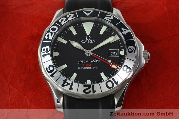 Used luxury watch Omega Seamaster steel automatic Kal. 1128  | 142828 16
