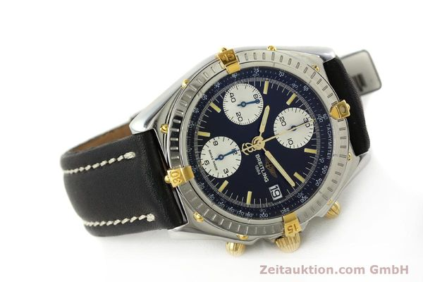 Used luxury watch Breitling Chronomat chronograph steel / gold automatic Kal. B13 ETA 7750 Ref. B13050  | 142829 03
