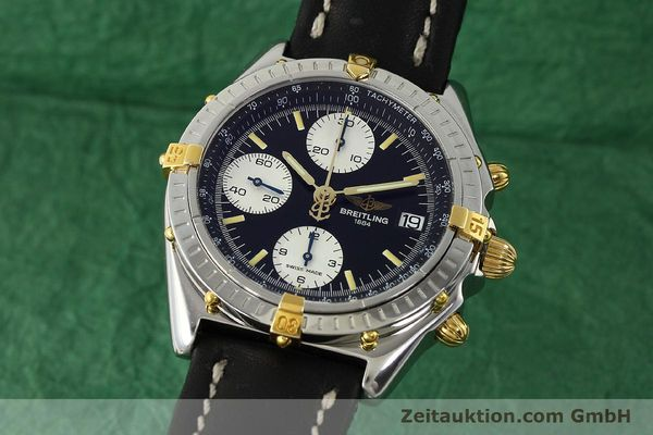 Used luxury watch Breitling Chronomat chronograph steel / gold automatic Kal. B13 ETA 7750 Ref. B13050  | 142829 04