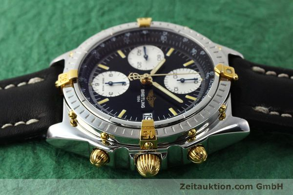Used luxury watch Breitling Chronomat chronograph steel / gold automatic Kal. B13 ETA 7750 Ref. B13050  | 142829 05