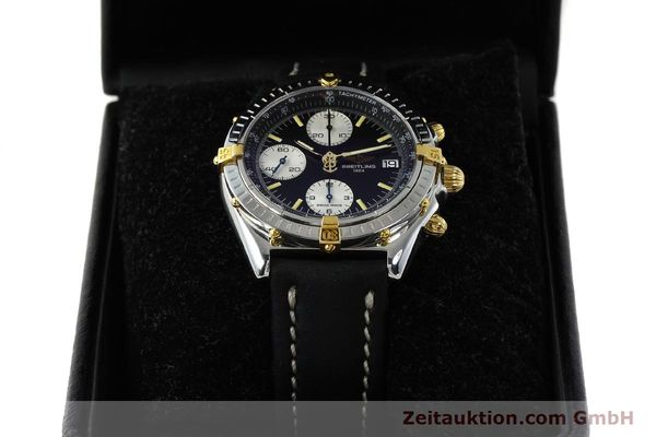 Used luxury watch Breitling Chronomat chronograph steel / gold automatic Kal. B13 ETA 7750 Ref. B13050  | 142829 07
