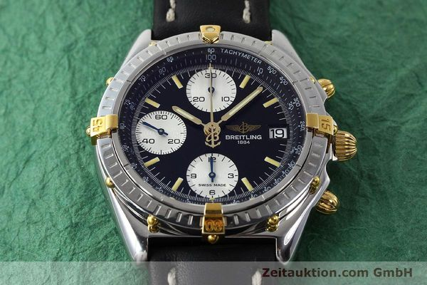 Used luxury watch Breitling Chronomat chronograph steel / gold automatic Kal. B13 ETA 7750 Ref. B13050  | 142829 14