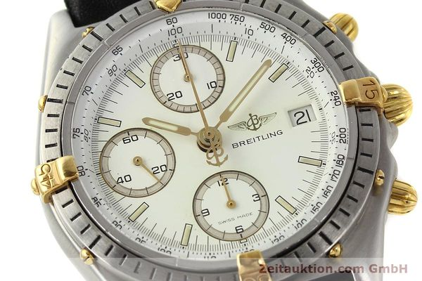 Used luxury watch Breitling Chronomat chronograph steel / gold automatic Kal. ETA 7750 Ref. 81950  | 142831 02