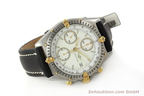 Used luxury watch Breitling Chronomat chronograph steel / gold automatic Kal. ETA 7750 Ref. 81950  | 142831 03