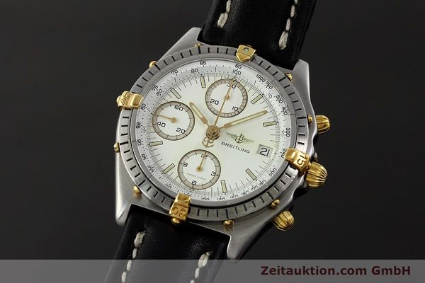 Used luxury watch Breitling Chronomat chronograph steel / gold automatic Kal. ETA 7750 Ref. 81950  | 142831 04