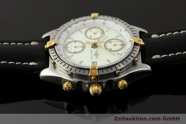 Used luxury watch Breitling Chronomat chronograph steel / gold automatic Kal. ETA 7750 Ref. 81950  | 142831 05