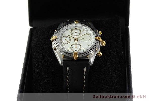 Used luxury watch Breitling Chronomat chronograph steel / gold automatic Kal. ETA 7750 Ref. 81950  | 142831 07