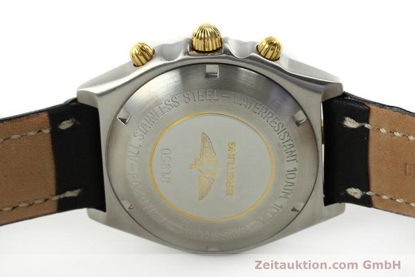 Used luxury watch Breitling Chronomat chronograph steel / gold automatic Kal. ETA 7750 Ref. 81950  | 142831 09
