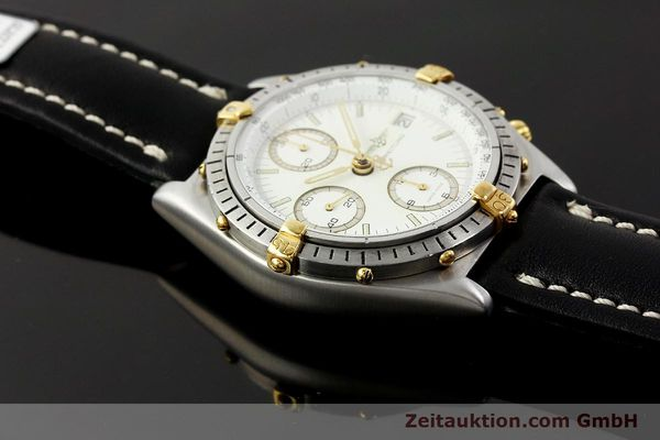 Used luxury watch Breitling Chronomat chronograph steel / gold automatic Kal. ETA 7750 Ref. 81950  | 142831 13