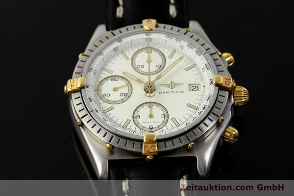 Used luxury watch Breitling Chronomat chronograph steel / gold automatic Kal. ETA 7750 Ref. 81950  | 142831 14
