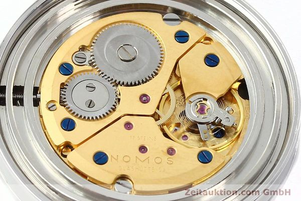 Used luxury watch Nomos Tangente steel manual winding Kal. ETA 7001  | 142833 10