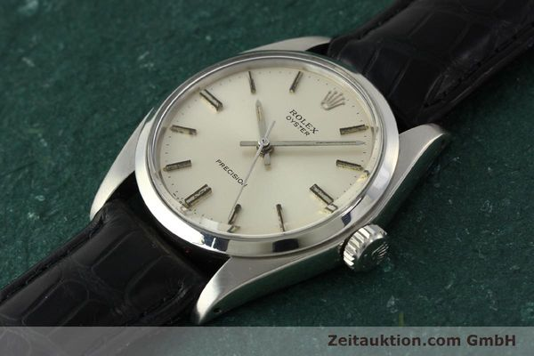 Used luxury watch Rolex Precision steel manual winding Kal. 1225 Ref. 6426  | 142836 01