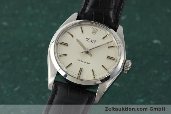 Used luxury watch Rolex Precision steel manual winding Kal. 1225 Ref. 6426  | 142836 04