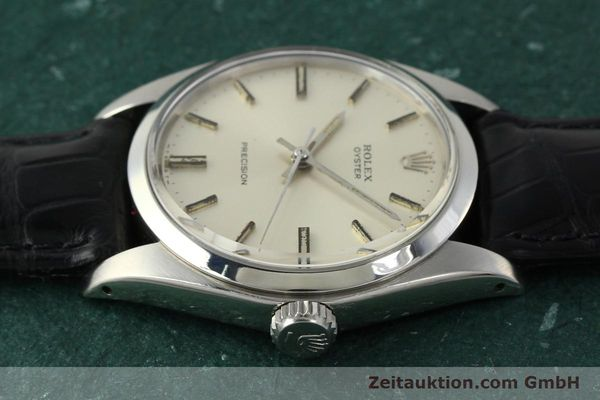 Used luxury watch Rolex Precision steel manual winding Kal. 1225 Ref. 6426  | 142836 05