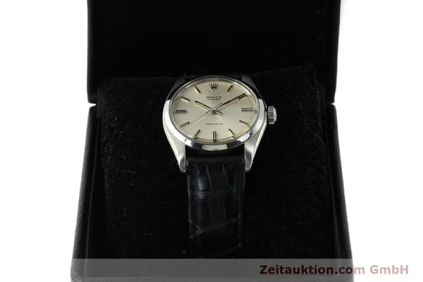 Used luxury watch Rolex Precision steel manual winding Kal. 1225 Ref. 6426  | 142836 07
