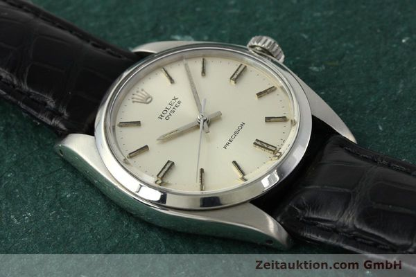 Used luxury watch Rolex Precision steel manual winding Kal. 1225 Ref. 6426  | 142836 13