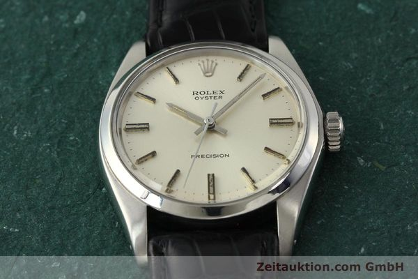 Used luxury watch Rolex Precision steel manual winding Kal. 1225 Ref. 6426  | 142836 14