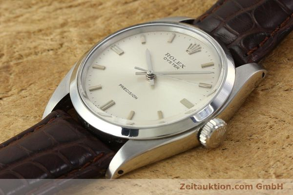 Used luxury watch Rolex Precision steel manual winding Kal. 1225 Ref. 6426  | 142837 01