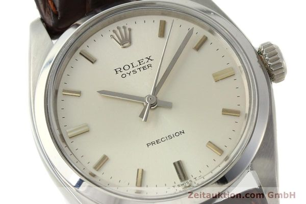 Used luxury watch Rolex Precision steel manual winding Kal. 1225 Ref. 6426  | 142837 02