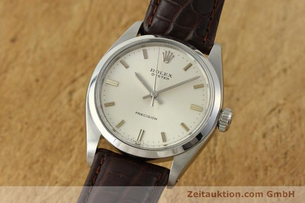 Used luxury watch Rolex Precision steel manual winding Kal. 1225 Ref. 6426  | 142837 04