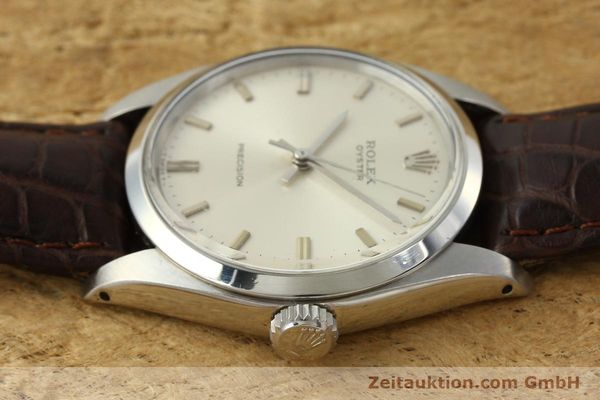 Used luxury watch Rolex Precision steel manual winding Kal. 1225 Ref. 6426  | 142837 05