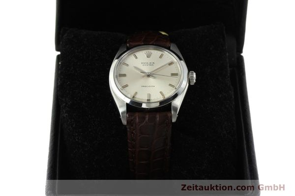 Used luxury watch Rolex Precision steel manual winding Kal. 1225 Ref. 6426  | 142837 07