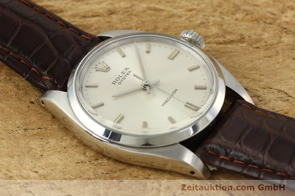 Used luxury watch Rolex Precision steel manual winding Kal. 1225 Ref. 6426  | 142837 14