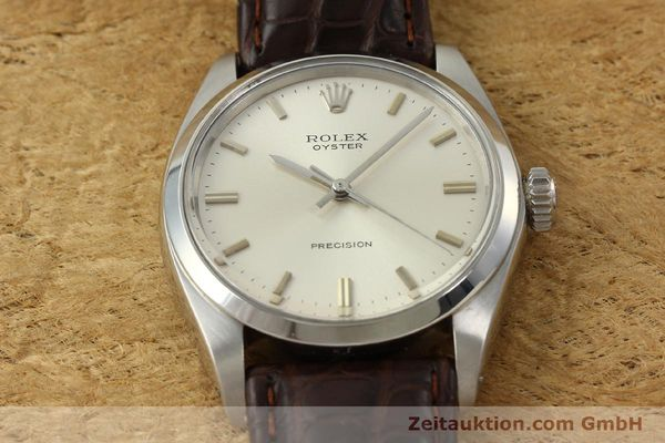 Used luxury watch Rolex Precision steel manual winding Kal. 1225 Ref. 6426  | 142837 15