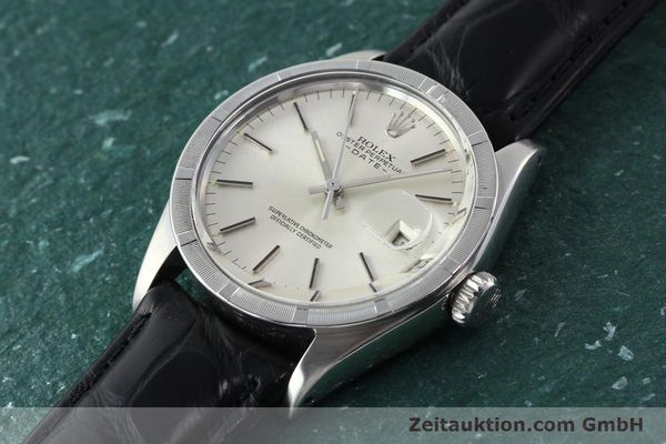 Used luxury watch Rolex Date steel automatic Kal. 1570 Ref. 1501  | 142838 01