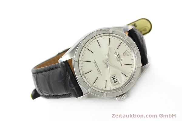 Used luxury watch Rolex Date steel automatic Kal. 1570 Ref. 1501  | 142838 03