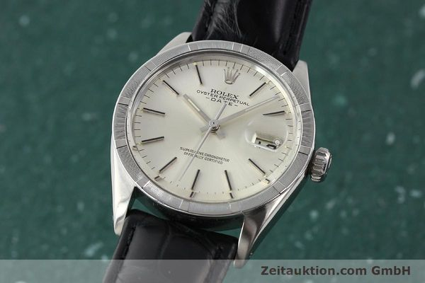 Used luxury watch Rolex Date steel automatic Kal. 1570 Ref. 1501  | 142838 04