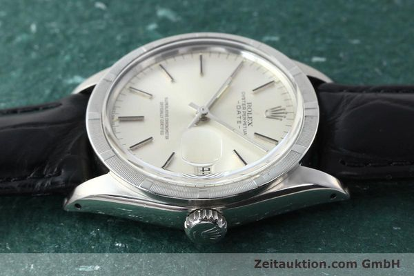 Used luxury watch Rolex Date steel automatic Kal. 1570 Ref. 1501  | 142838 05