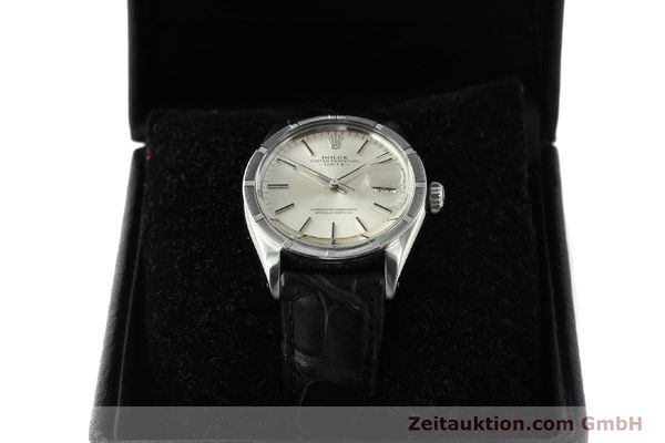 Used luxury watch Rolex Date steel automatic Kal. 1570 Ref. 1501  | 142838 07