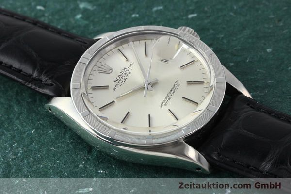 Used luxury watch Rolex Date steel automatic Kal. 1570 Ref. 1501  | 142838 14