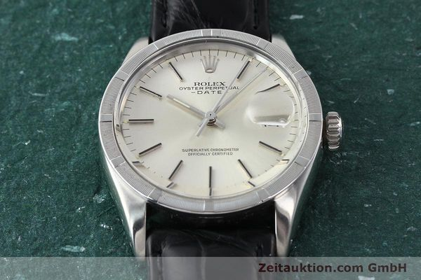 Used luxury watch Rolex Date steel automatic Kal. 1570 Ref. 1501  | 142838 15