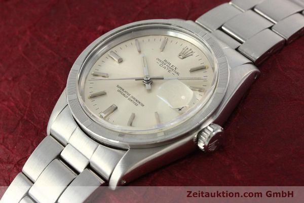 Used luxury watch Rolex Date steel automatic Kal. 1570 Ref. 1501  | 142840 01