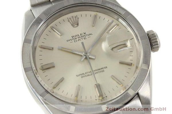 Used luxury watch Rolex Date steel automatic Kal. 1570 Ref. 1501  | 142840 02