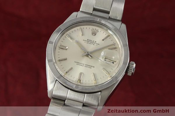 Used luxury watch Rolex Date steel automatic Kal. 1570 Ref. 1501  | 142840 04