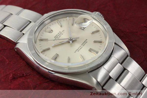 Used luxury watch Rolex Date steel automatic Kal. 1570 Ref. 1501  | 142840 15